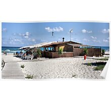 Bar on the Beach (Wish I was Here) Poster