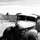 Abandoned Car in the Desert - Solitaire, Namibia by digsy