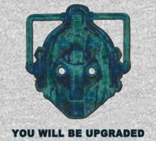 You Will Be Upgraded - Cyberman by Cuddlechimp