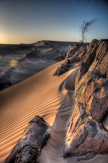 Sahara Sunrise, Morocco by Christopher Cullen