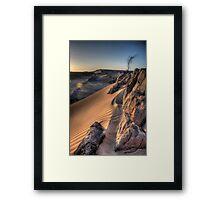 Sahara Sunrise, Morocco Framed Print