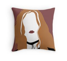 Ginger from Ginger Snaps Throw Pillow