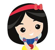 Snow White  by anjsalano