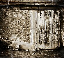 Scottish barn door by mooose