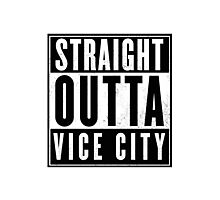 GTA - Straight outta Vice City Photographic Print