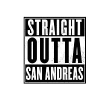 GTA - Straight Outta San Andreas Photographic Print