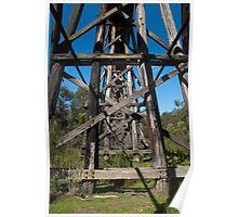 The Old Trestle Bridge Poster