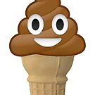 Chocolate Ice cream or poo? Fun with Emoji by redcow
