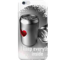 i keep everything inside iPhone Case/Skin