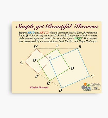 Finsler Theorem Canvas Print