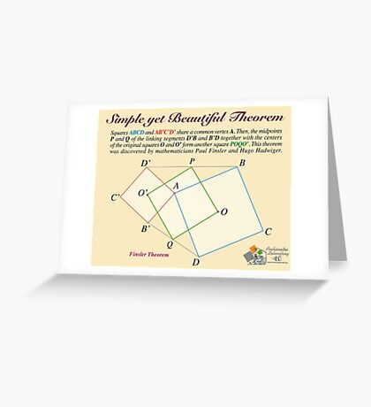 Finsler Theorem Greeting Card