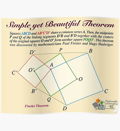 Finsler Theorem Poster