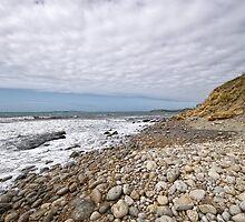 Osmington Mills Seascape by Susie Peek