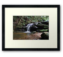 Leura Cascades 13-11-10 Framed Print