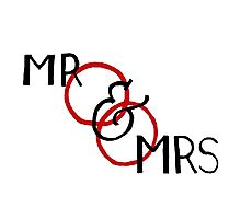 Mr and Mrs 2 Photographic Print
