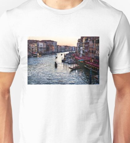 Impressions Of Venice - a Classic View of the Grand Canal Unisex T-Shirt