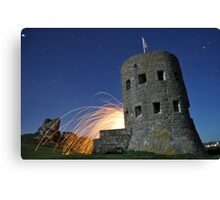Angry Tower Canvas Print