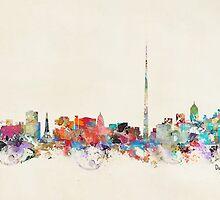 dublin city skyline by bri-b