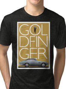 Goldfinger - James Bond Movie Poster Tri-blend T-Shirt