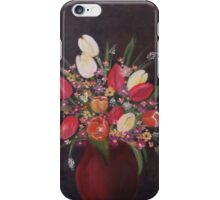 tulips with daisies iPhone Case/Skin