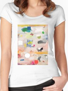 messages 08 Women's Fitted Scoop T-Shirt