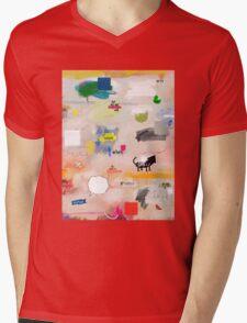 messages 08 Mens V-Neck T-Shirt