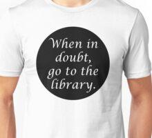 HP When in doubt... Unisex T-Shirt