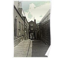 Castle Steps - Dublin Poster
