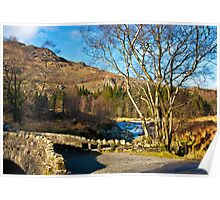 Birks Bridge over the River Duddon Poster