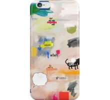 messages 08 iPhone Case/Skin
