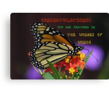 Feature entry Canvas Print
