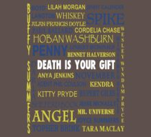 Joss Whedon - Death Is Your Gift  by Shaun Beresford
