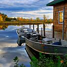 TWO BOATS by MIKESANDY
