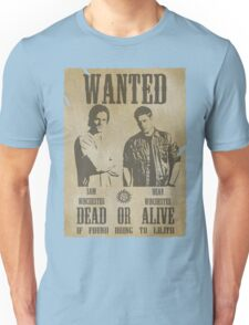 Supernatural - Wanted Dead or Alive  Unisex T-Shirt