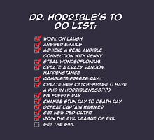 Dr. Horrible's To Do List  T-Shirt