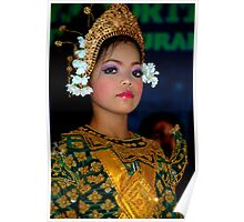 Young Dancer - Siem Reap, Cambodia Poster