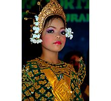 Young Dancer - Siem Reap, Cambodia Photographic Print