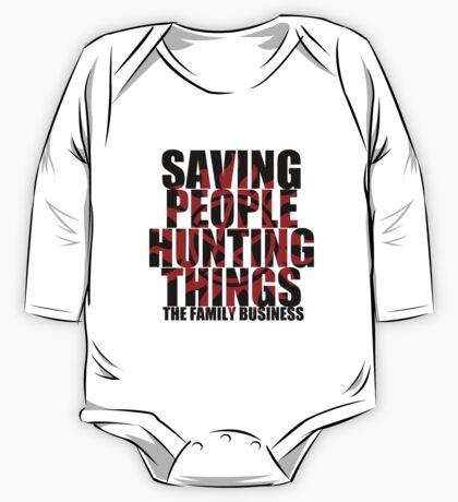 Supernatural - Saving People, Hunting Things  One Piece - Long Sleeve