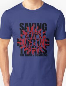 Supernatural - Saving People, Hunting Things  Unisex T-Shirt