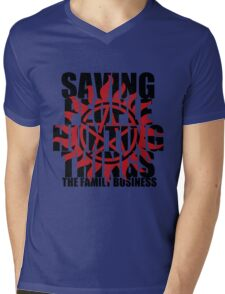 Supernatural - Saving People, Hunting Things  Mens V-Neck T-Shirt
