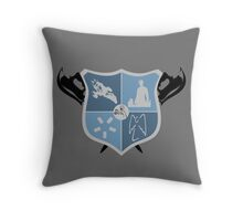 Joss Whedon Coat of Arms  Throw Pillow