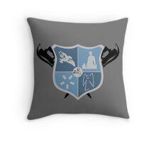 Joss Whedon Coat of Arms  Throw Pillow