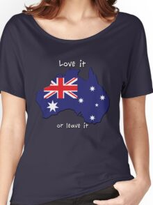 Australia | Love it - or leave it Women's Relaxed Fit T-Shirt