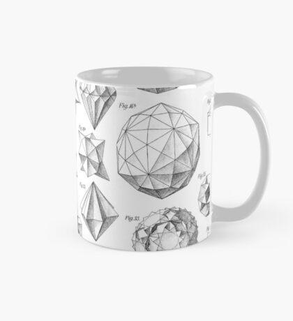 Max Bruckner 1906 polyhedra & icosahedron models Mug