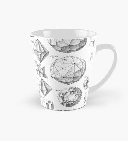 Max Bruckner 1906 polyhedra & icosahedron models Tall Mug