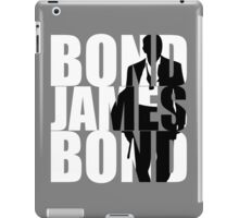 Bond, James Bond  iPad Case/Skin