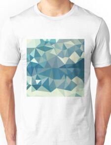 Skobeloff Green Abstract Low Polygon Background Unisex T-Shirt
