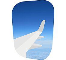 Plane Window Photographic Print