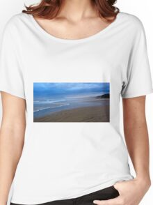 Simple beauty - Ocean Beach, Tasmania Women's Relaxed Fit T-Shirt