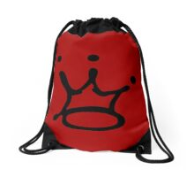 Graffiti Crown | Black Drawstring Bag